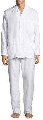 Derek Rose Men's Lombard 6 Cotton Pajamas