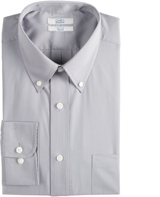 Croft & Barrow Men's Regular-Fit Easy-Care Button-Down Collar Dress Shirt