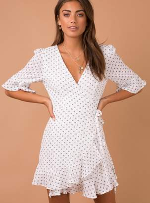 Maria Mae Wrap Dress