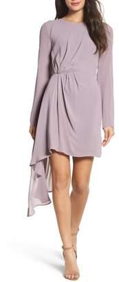 Bardot Stilla Asymmetric Drape Dress