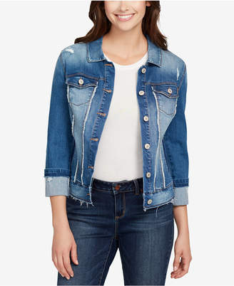 LTB Vintage America Frayed Denim Jacket