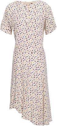 Vanessa Bruno Printed Silk Crepe De Chine Dress