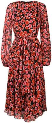 Giambattista Valli floral petal printed dress