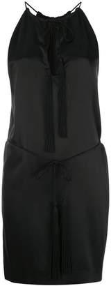 Nili Lotan tassel tied mini dress