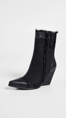 Jeffrey Campbell Unravel Point Toe Booties