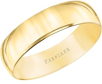 Keepsake 10kt Yellow Gold Wedding Band, 5mm