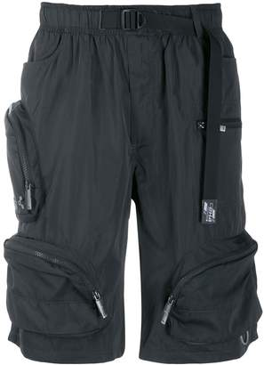 C2H4 utility exterior pockets shorts