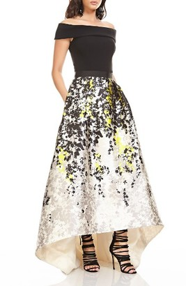 Women's Theia Off The Shoulder Ballgown $1,295 thestylecure.com