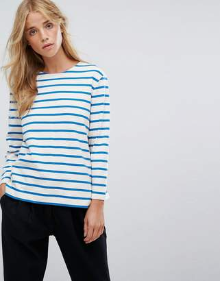YMC Breton Stripe Long Sleeved T-Shirt