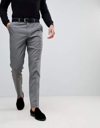 Asos Design DESIGN slim smart trouser in grey