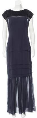 Jonathan Saunders Embellished Silk Dress