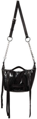 McQ Black Mini Hobo Bag
