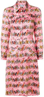 DAY Birger et Mikkelsen Ultràchic animal print shirt dress