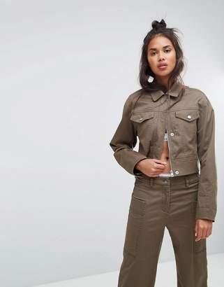 Calvin Klein Jeans Cropped Boxy Jacket