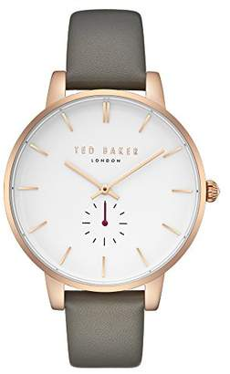 Ted Baker Women's 'Olivia' Quartz Stainless Steel and Leather Casual Watch