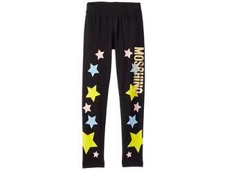 Moschino Kids Star Logo Leggings (Little Kids/Big Kids)