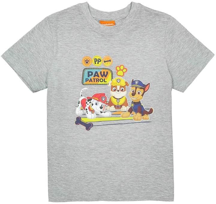 Paw Patrol Plain Short-Sleeved Crew Neck T-Shirt