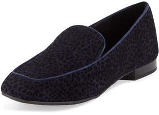 Donald J Pliner Heddy Flat Suede Loafers