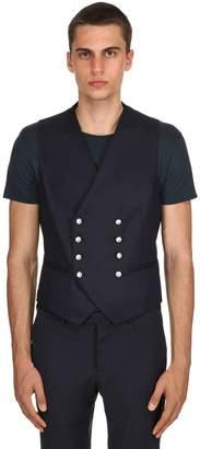 Tagliatore Super 100's Wool Flannel Vest