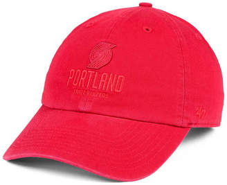 '47 Portland Trail Blazers Triple Rush Clean Up Cap
