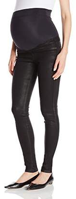 James Jeans Women's Twiggy External Maternity Band Legging Jean in