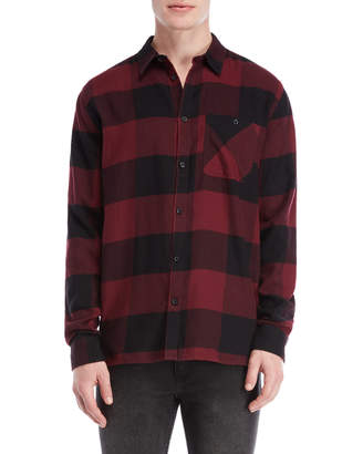 Cheap Monday Flannel Plaid Give Shirt