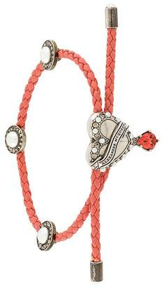 Alexander McQueen Heart Friendship bracelet