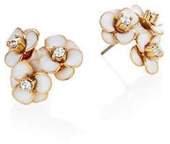 Kate Spade Shine On Crystal Flower Cluster Stud Earrings