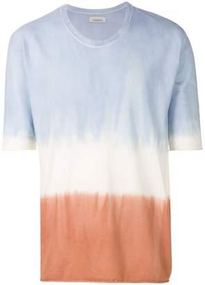 Laneus tie dye tricolour T-shirt