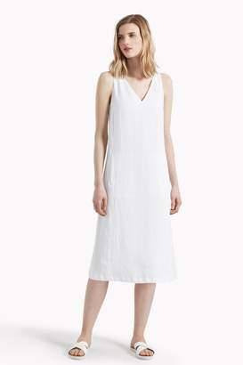 b79c95697dee Great Plains Lara Linen V Neck Dress