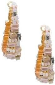 Saachi Pharaoh Crystal Beaded Drop Earrings