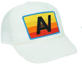 54e1b1f5a81 Aviator Nation Logo Rainbow Vintage Foam Trucker Hat