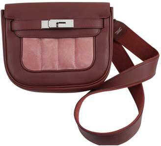 Hermes Berline leather crossbody bag