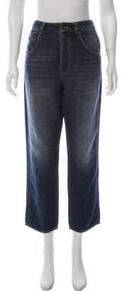 6397 High-Rise Straight-Leg Jeans