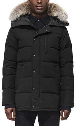 Canada Goose Carson Down Parka with Fur-Trim Hood, Graphite