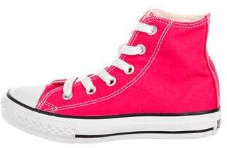 Converse Kids' High-Top Lace-Up Sneakers