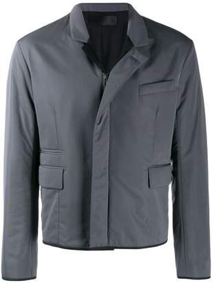 Haider Ackermann padded zip-up jacket