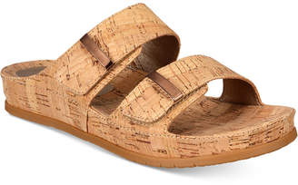 Bare Traps Cherilyn Slide Flat Sandals Women's Shoes $59 thestylecure.com