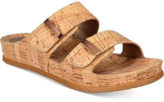 Bare Traps Cherilyn Slide Flat Sandals $59 thestylecure.com