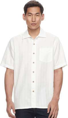 Men's Batik Bay Regular-Fit Soft-Touch Rayon-Blend Button-Down Shirt