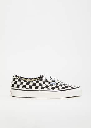 Vans UA Authentic Checkerboard Sneakers Black/Check