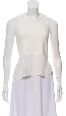 Timo Weiland Sleeveless Fringed Top w/ Tags