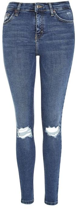 TopshopTopshop Moto indigo ripped jamie jeans