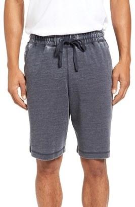 Men's Daniel Buchler Washed Cotton Blend Terry Lounge Shorts $78 thestylecure.com