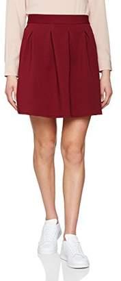 Naf Naf Women's LASHOPY J1 Mini Pleated Skirt,(Manufacturer Size: 42)