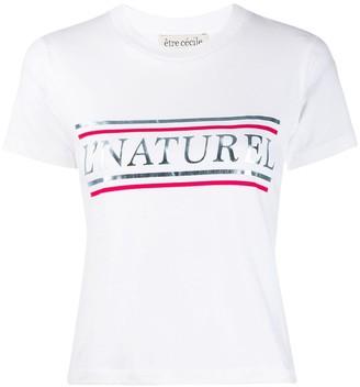 Être Cécile Nature printed T-shirt