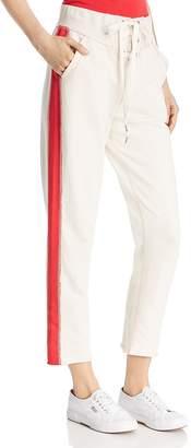 Rag & Bone Side-Stripe Lace-Up Sweatpants