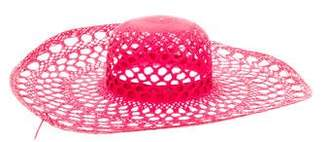 Inverni Straw Wide Brim Hat