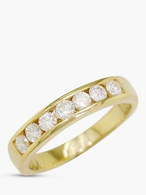EWA 18ct Gold Diamond Eternity Ring, 0.5ct