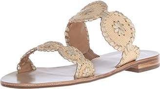 Jack Rogers Women's Lauren Raffia Dress Sandal